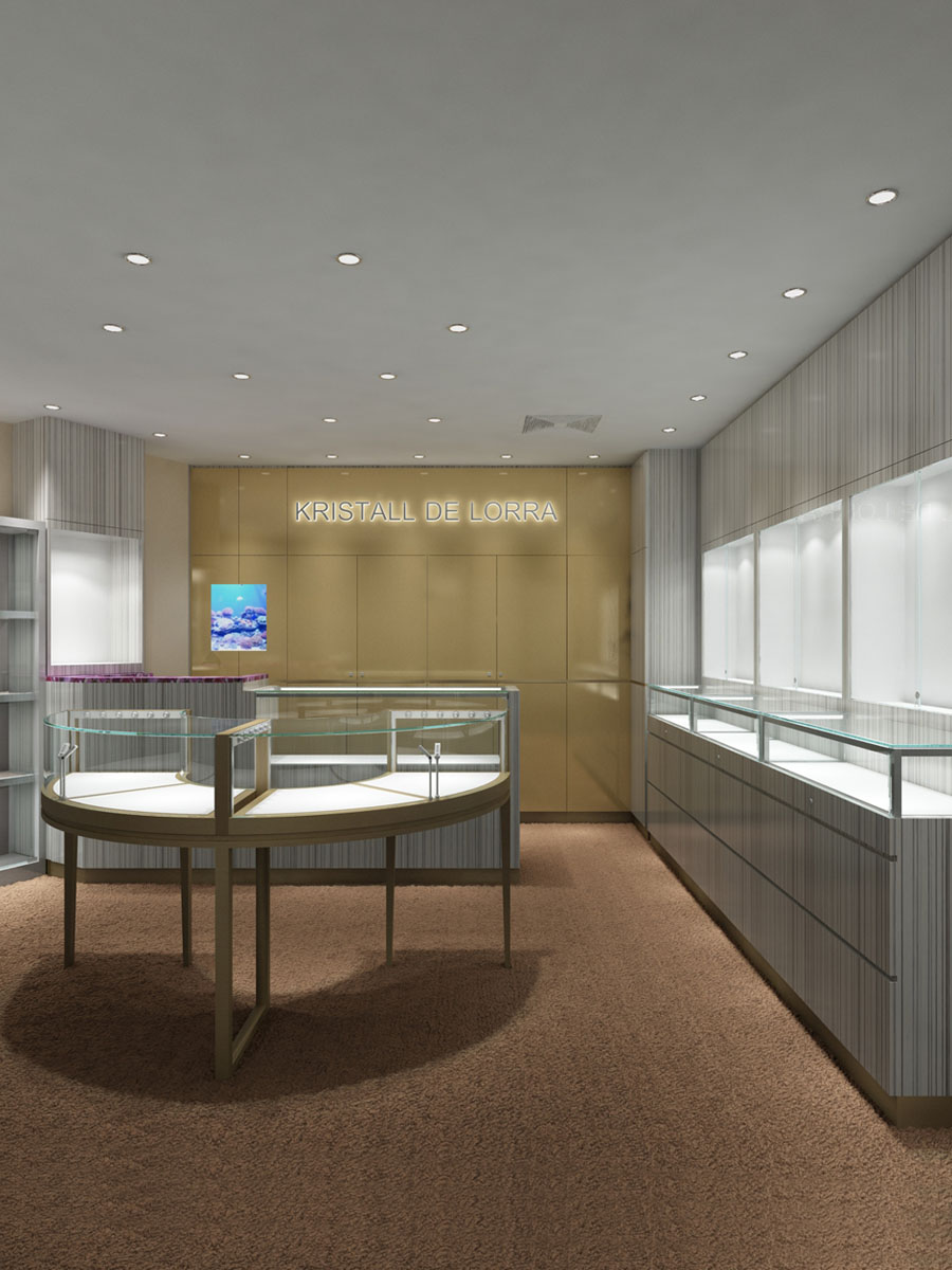 Design Luxury Jewelry Store, Display case 4 | Hkbesty
