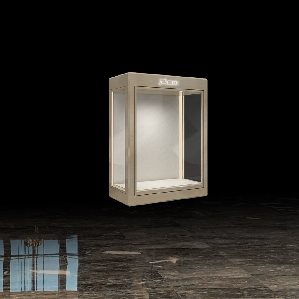 MT-23 Wall Mounted Jewelry Display Case | Besty Display