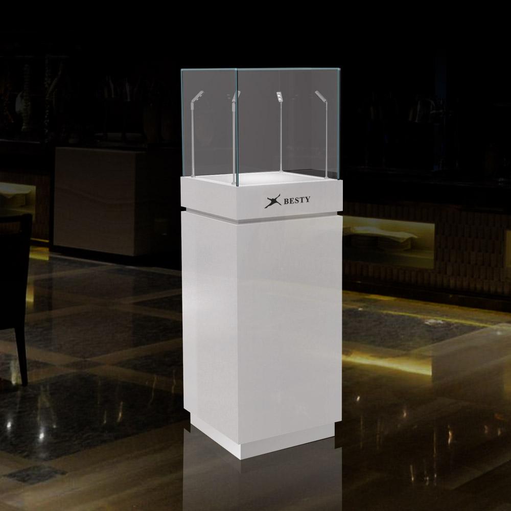 FA-01 Pedestal Display Case | Besty Display