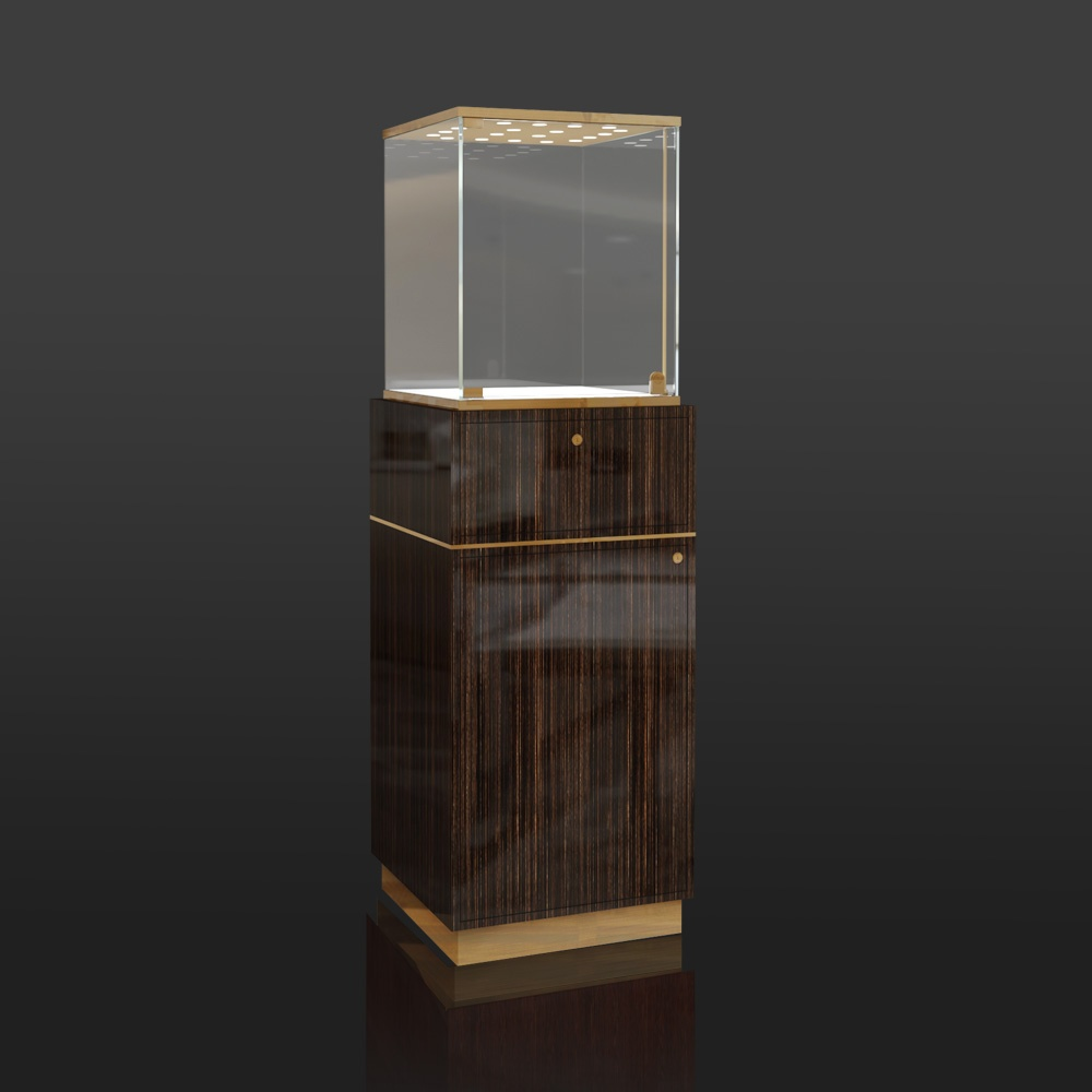 FA-26 Wooden Tower Display Case | Besty Display