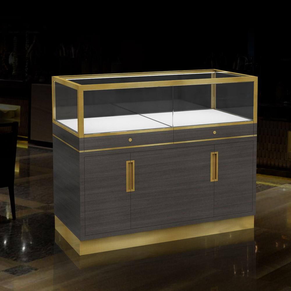 Luxury Led Jewelry Display Case | Glass Showcase | Besty Display