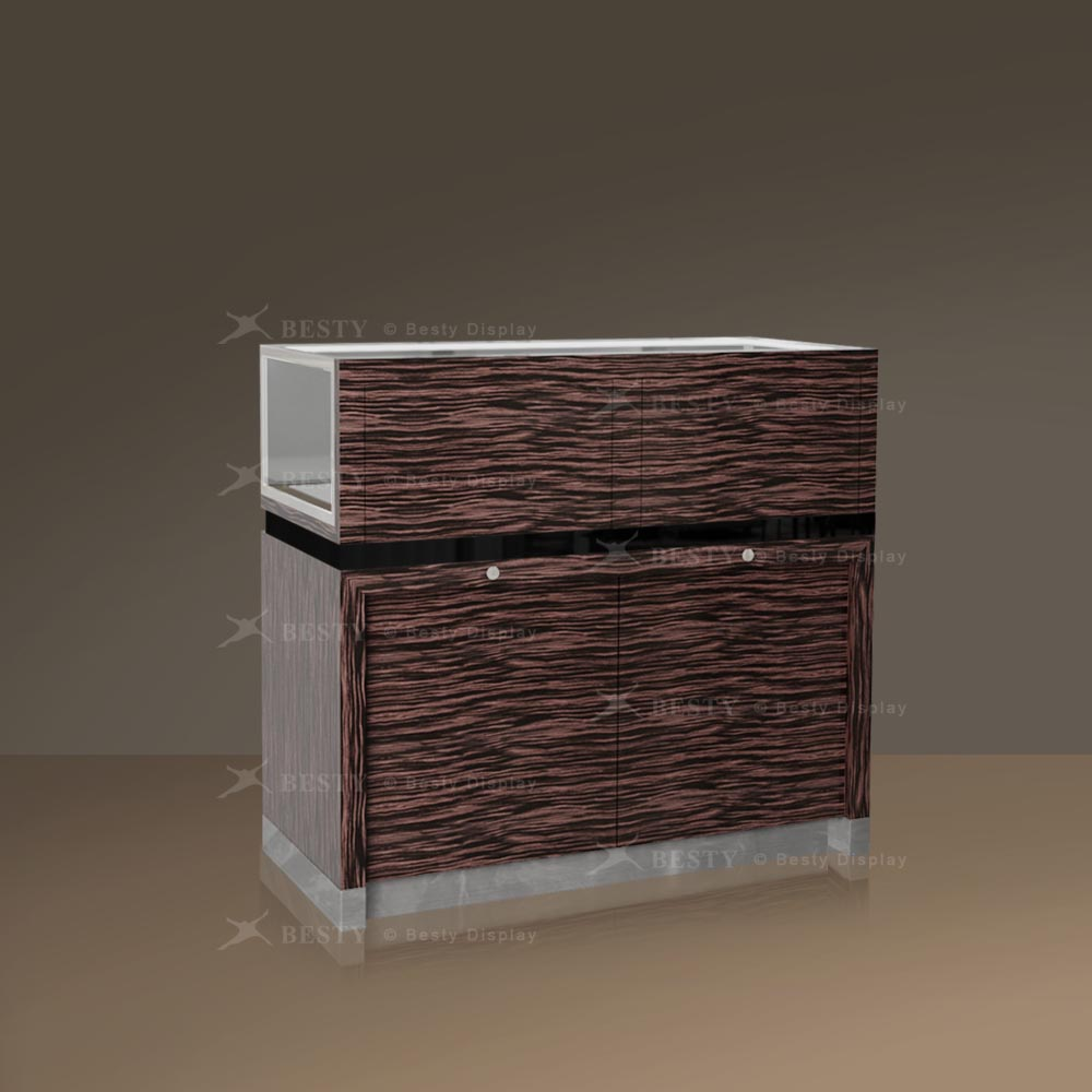Glass Showcase Counter Cabinet | Besty Display