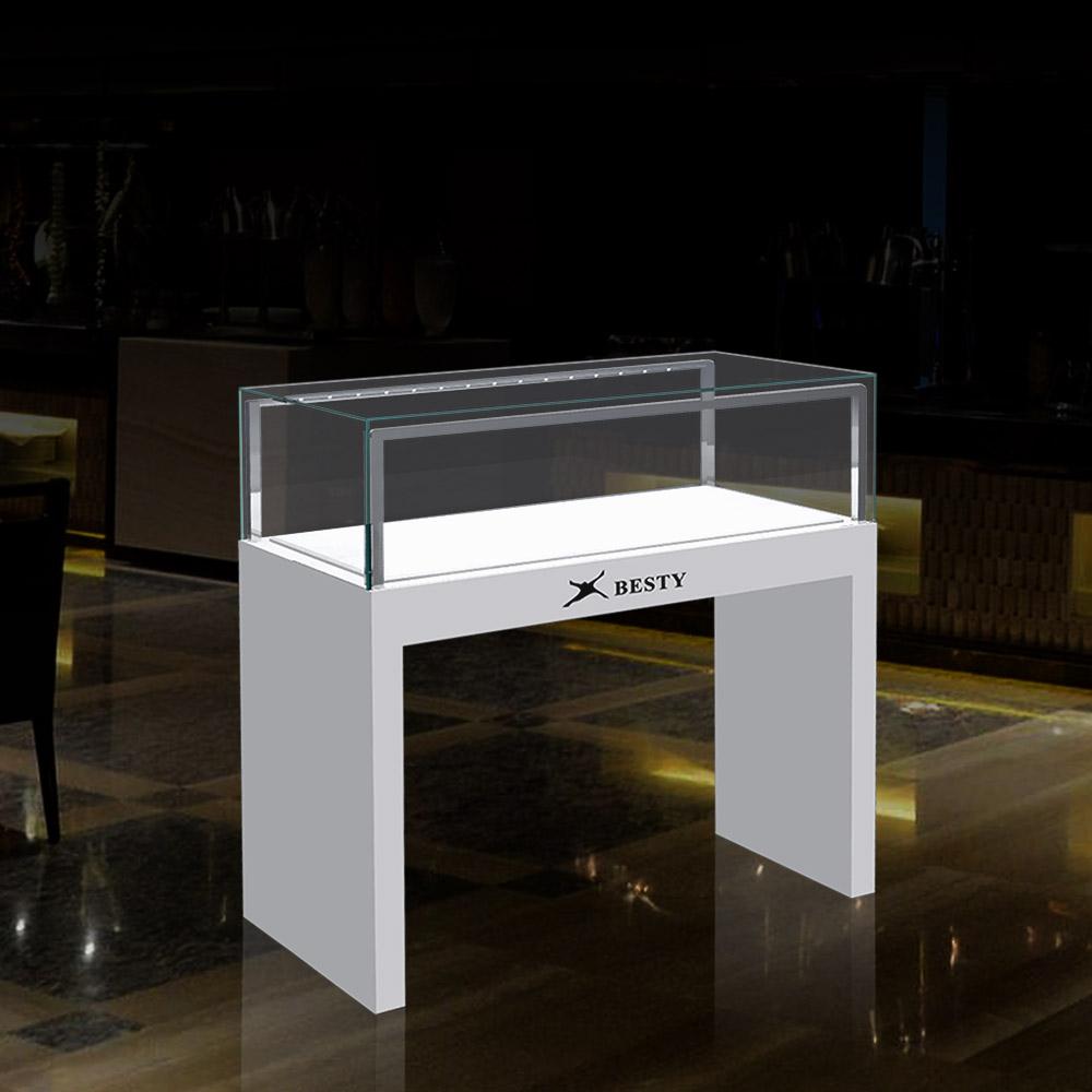 FA-06 Glass Jewelry Display Case with Lock | Besty Display