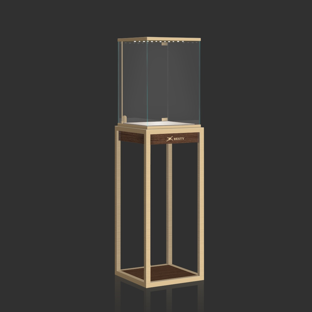 Led Tower Display Case S-02   Besty Display