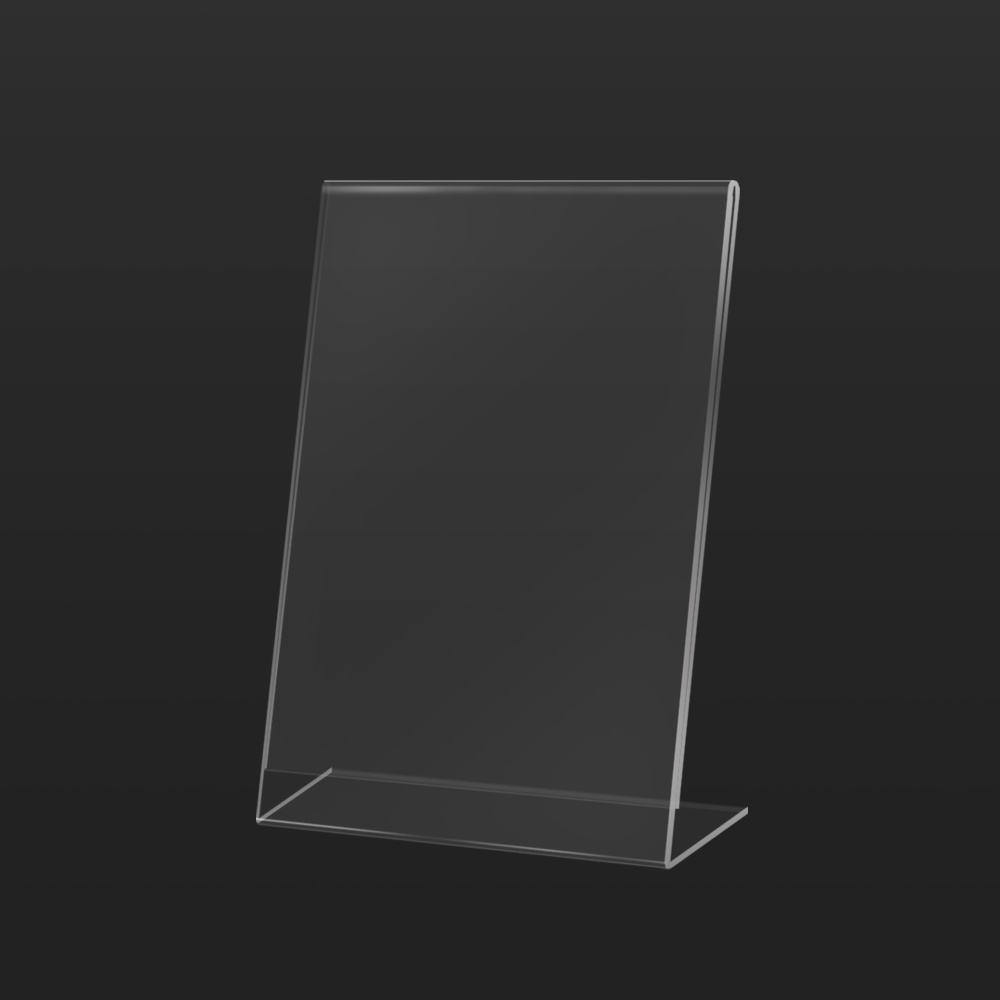 Vertical Acrylic Poster Holder Front | Besty Display