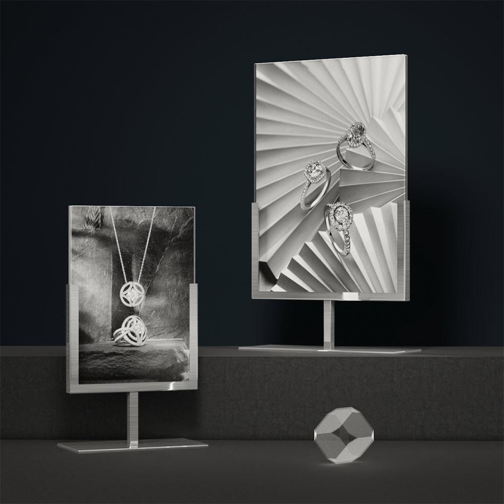 Poster Holder Metal | Besty Display