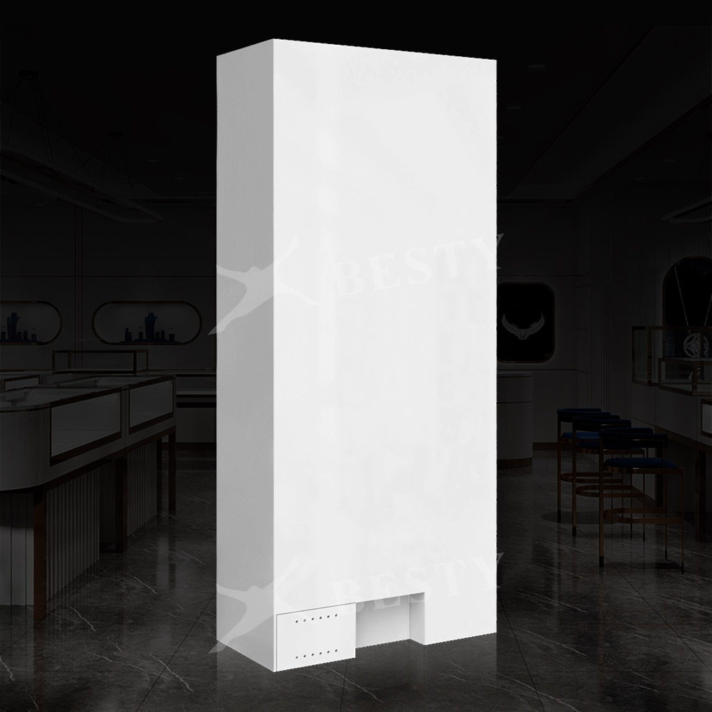 LED Glass Display Case S-122 | Besty Display
