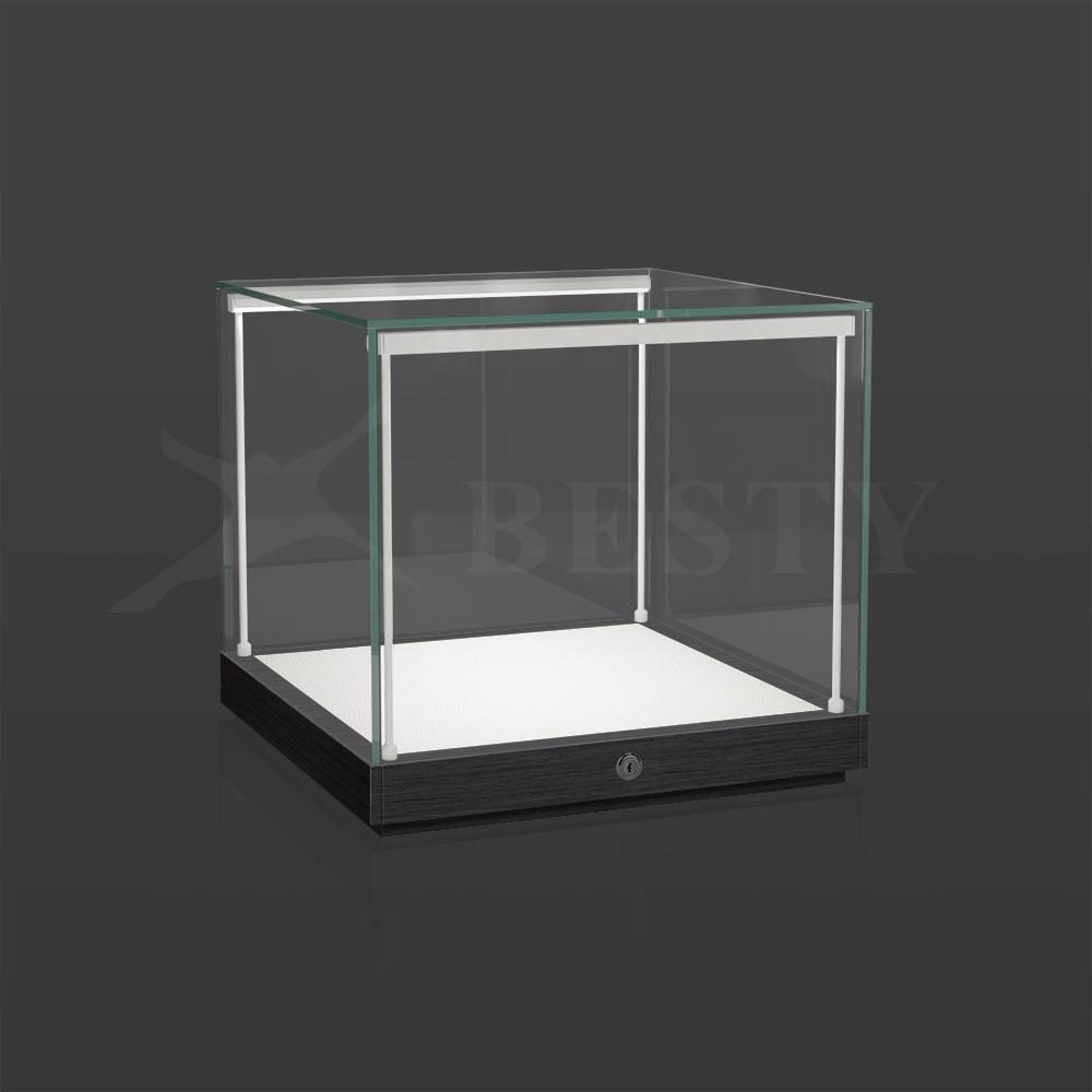 S-135 Black Veneer Table Top Showcase   Besty Display