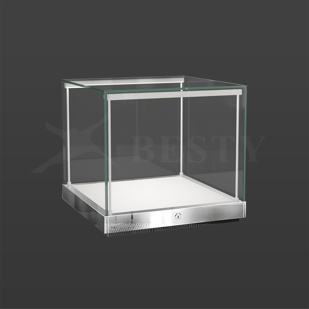S-135 Polished Stainless Steel Finish   Besty Display