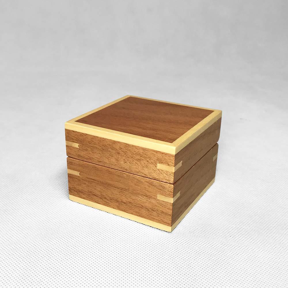BX-002 Natural Wood Box   Besty Display