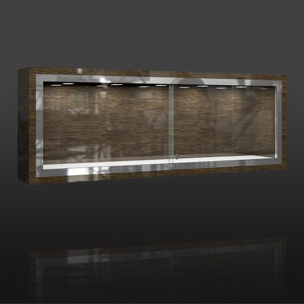 LX-06 Wall Display Showcase Glass | Besty Display