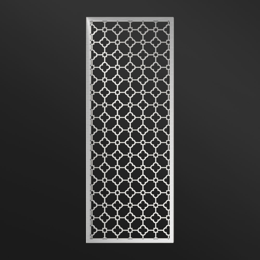 MPW-01 Decorative Partition Silver | Besty Display