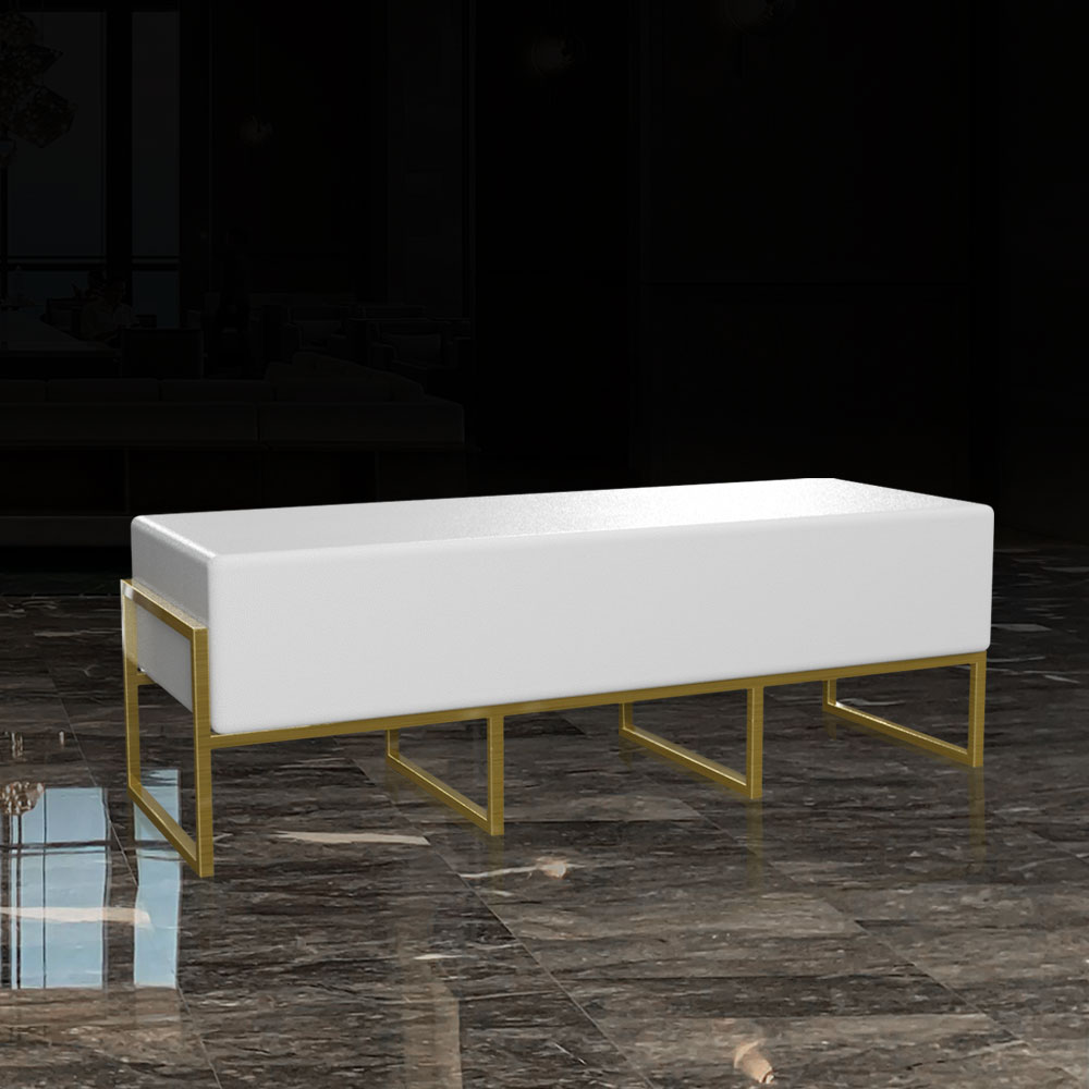 CST-003 Ottoman Bench Long   Besty Display