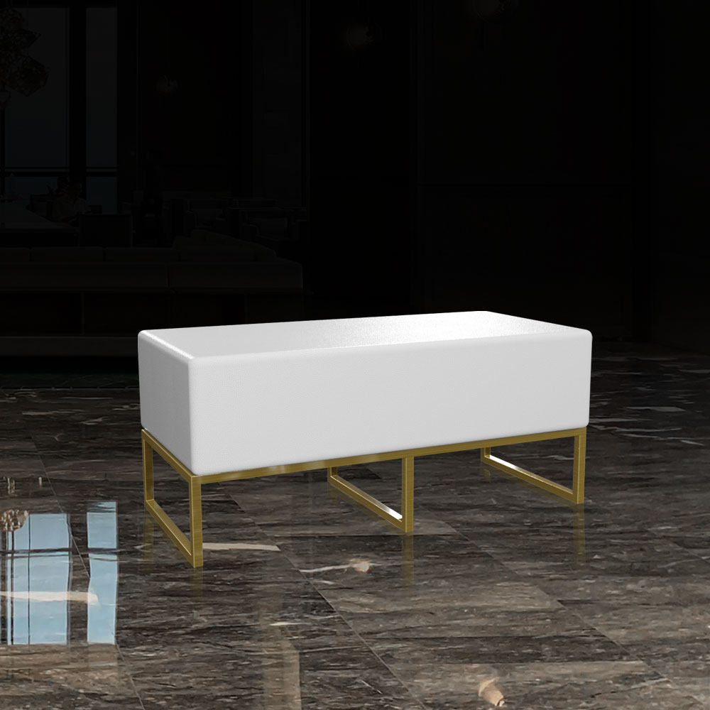 CST-005 Ottoman Bench Chair   Besty Display