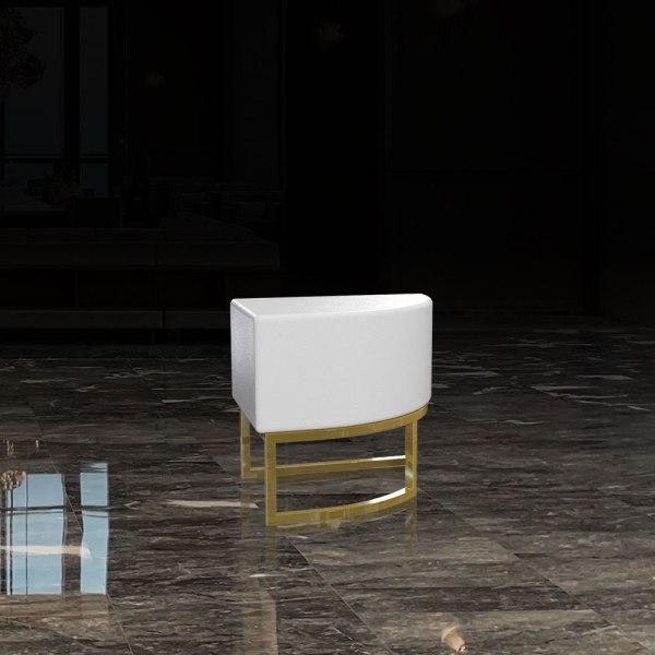 CST-006 Corner Ottoman Chair | Besty Display