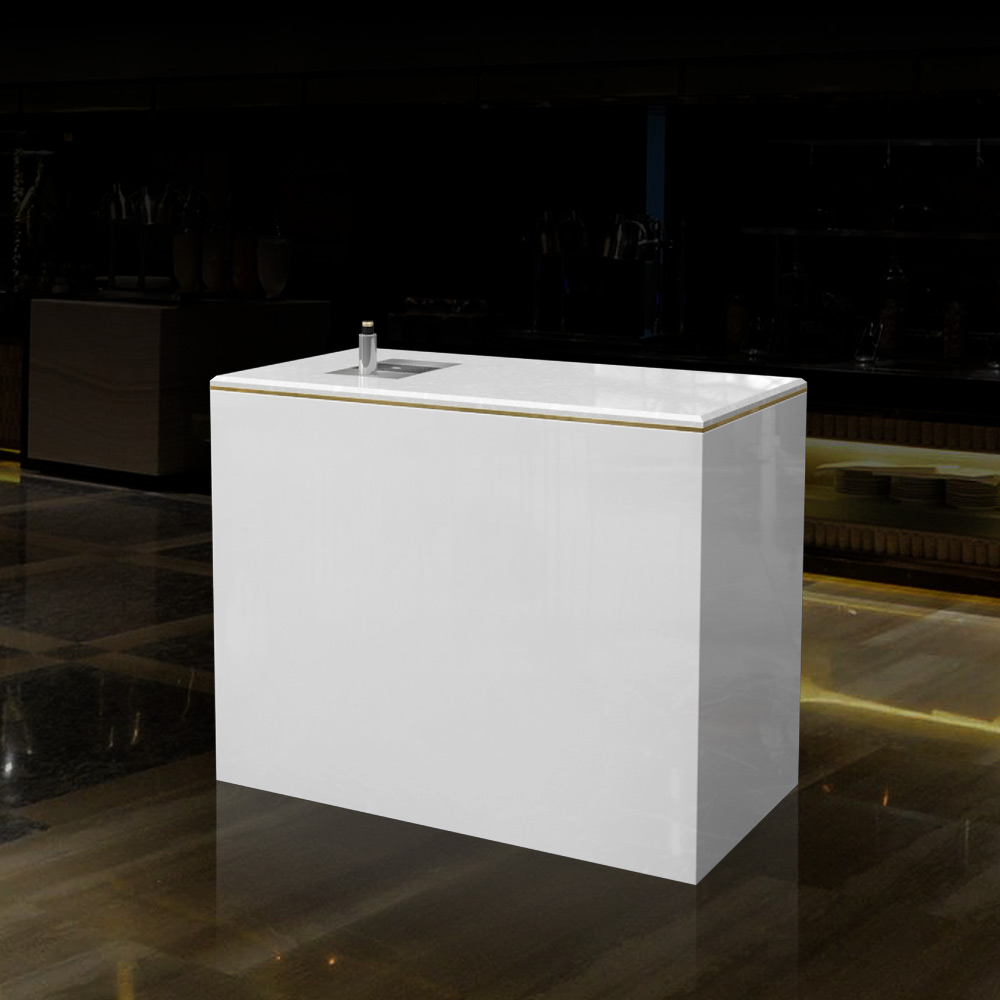 CT-002 Countertop Bar Table Back | Besty Display