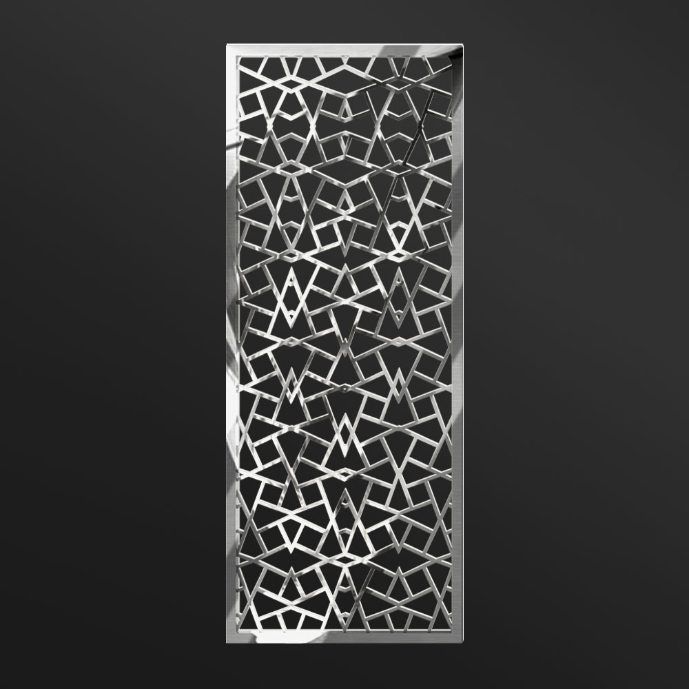 MPW-02 Polished Stainless Steel | Besty Display