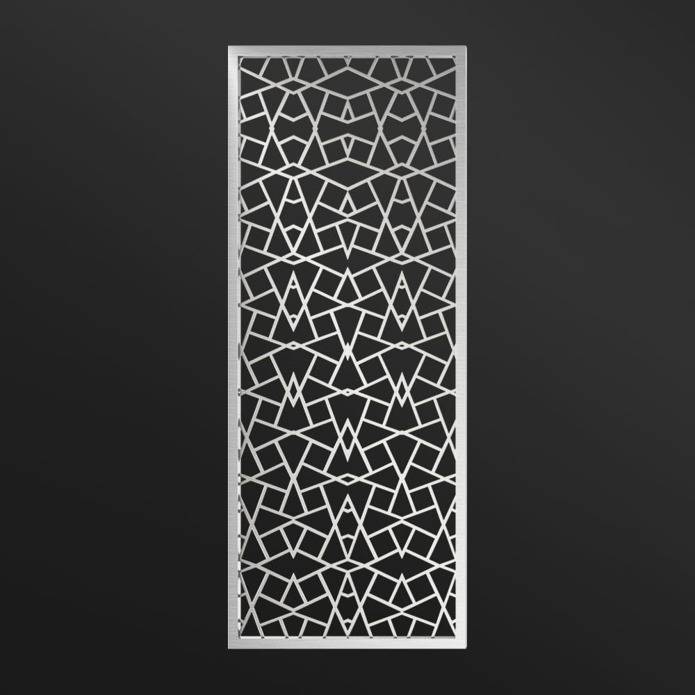 MPW-02 Decorative Metal Screen Silver | Besty Display