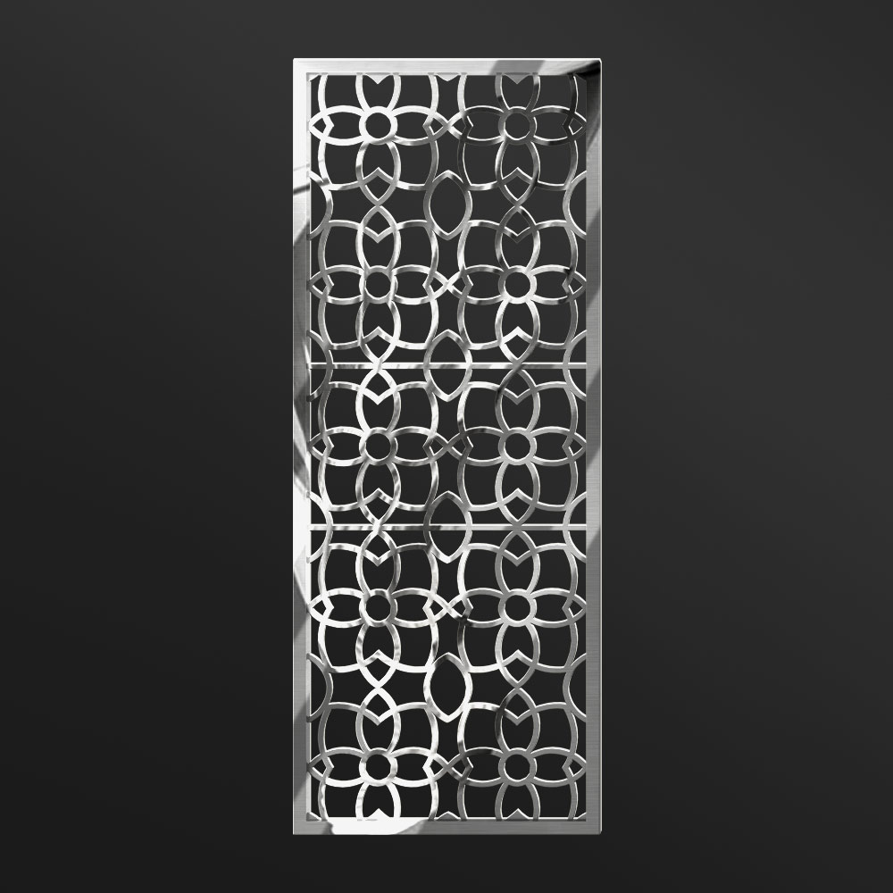 MPW-03 Polished Stainless Steel | Besty Display