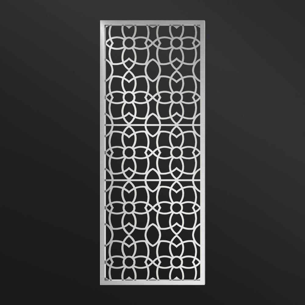 MPW-03 Decorative Screen Metal Silver | Besty Display