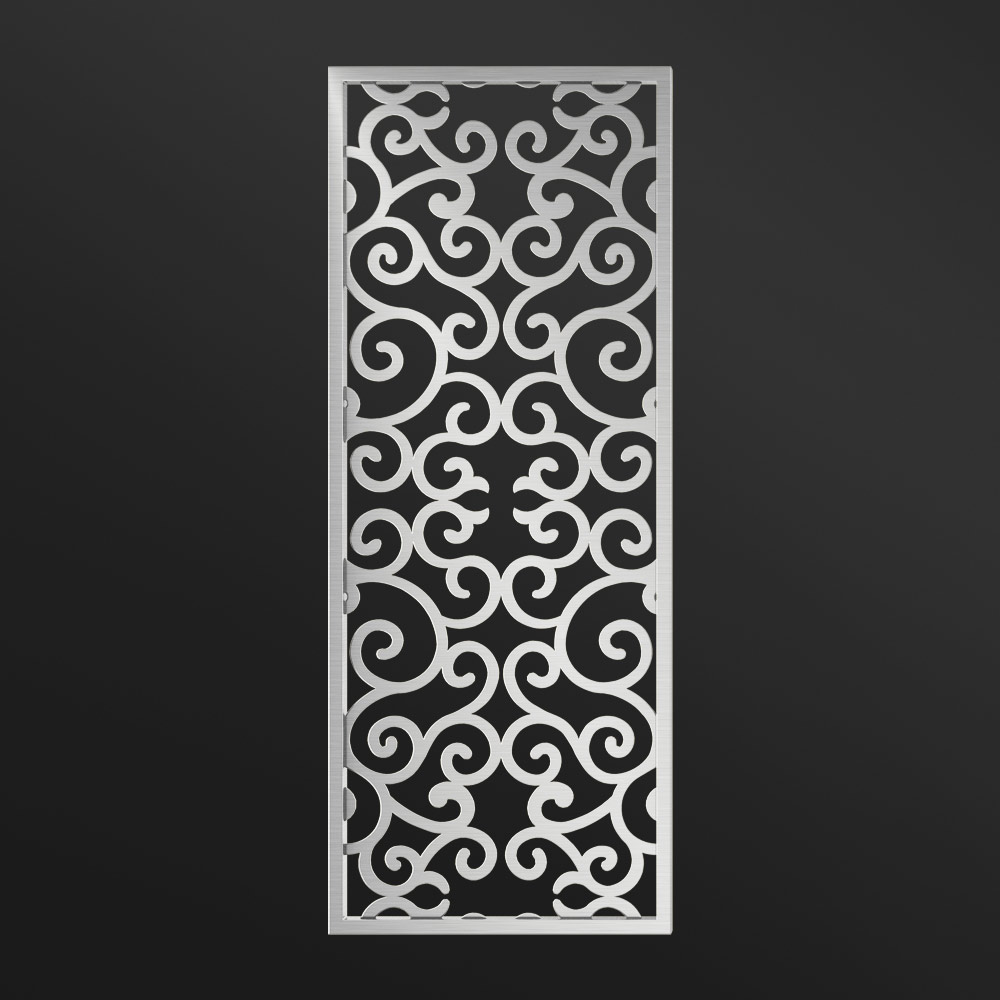 MPW-04 Decorative Screen Dividers Silver   Besty Display