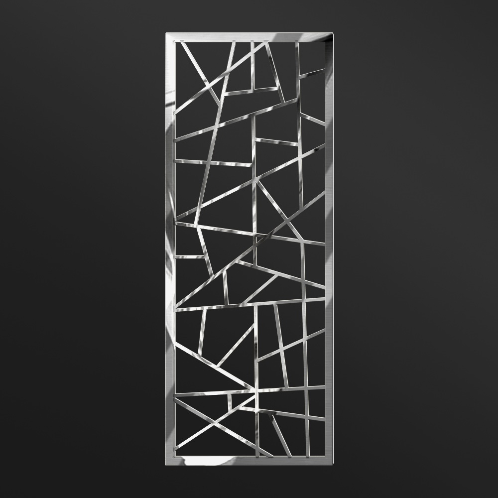 MPW-05 Polished Stainless Steel   Besty Display