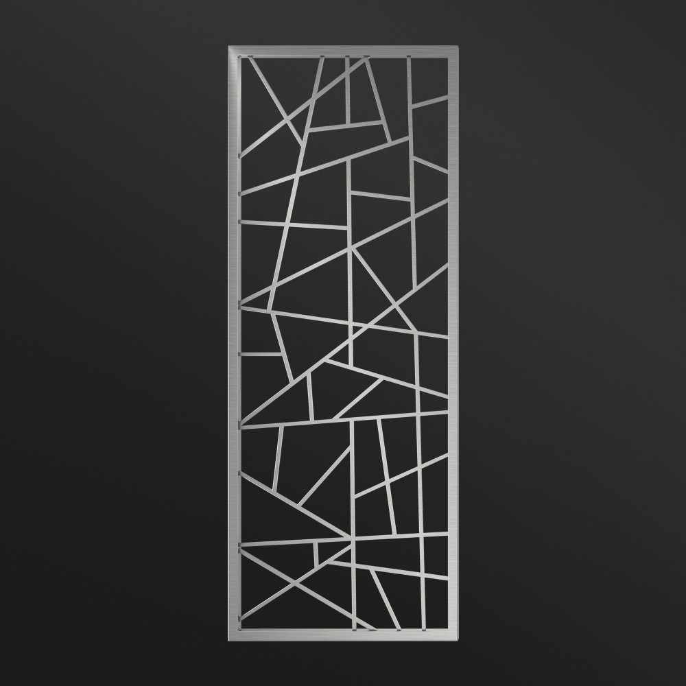 MPW-05 Metal Partition Divider Silver   Besty Display