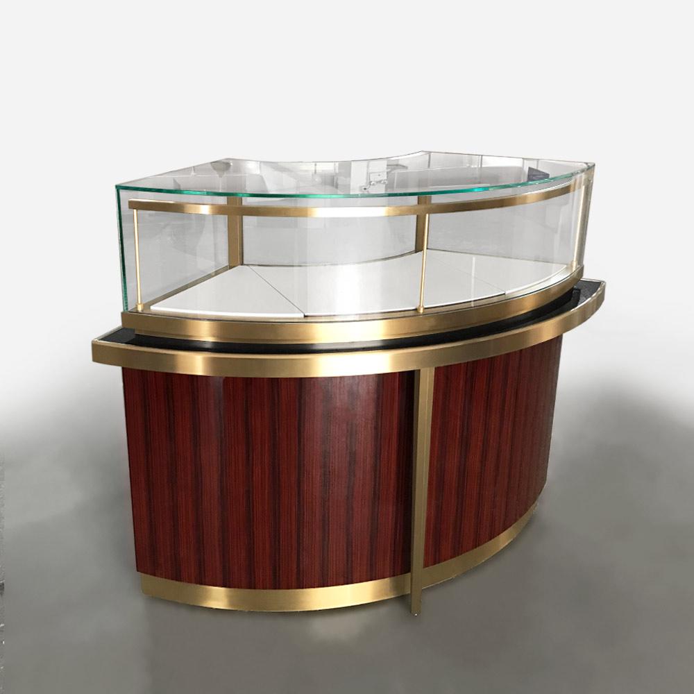 MT-36 Round Jewelry Display Case | Besty Display