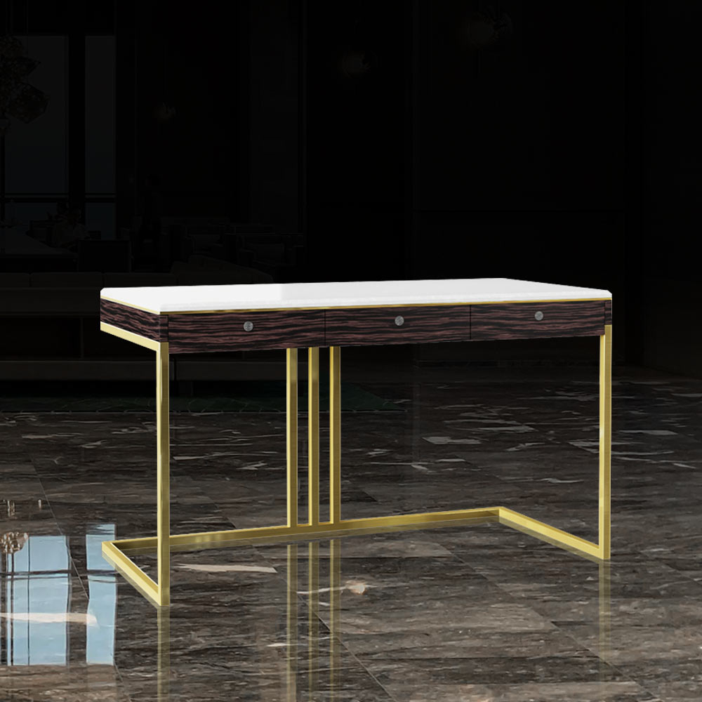 TBL-004 Desk for Table Talk with Drawers   Besty Display