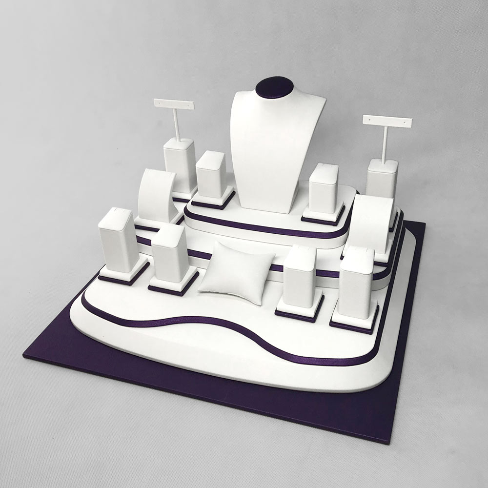 DS-004 Display Stand Jewellery Set C Side | Besty Display