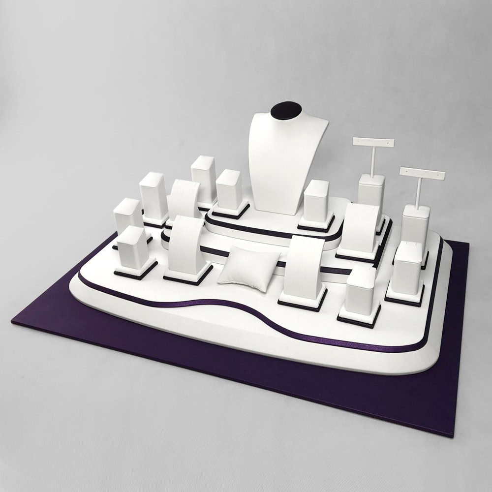 DS-004 Display Stand Jewellery Set D Side | Besty Display
