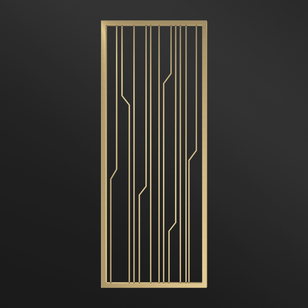 MPW-07 Partition Wall Metal   Besty Display