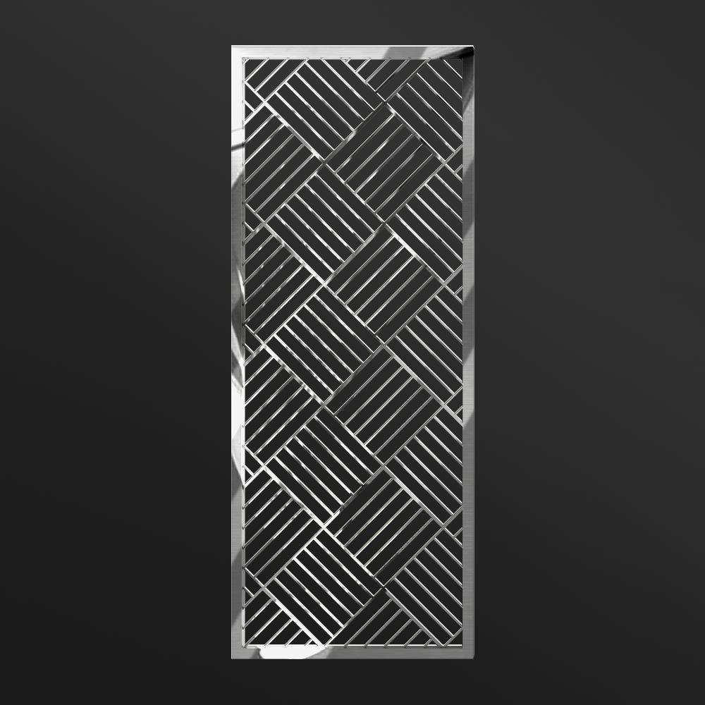 MPW-08 Polished Stainless Steel   Besty Display