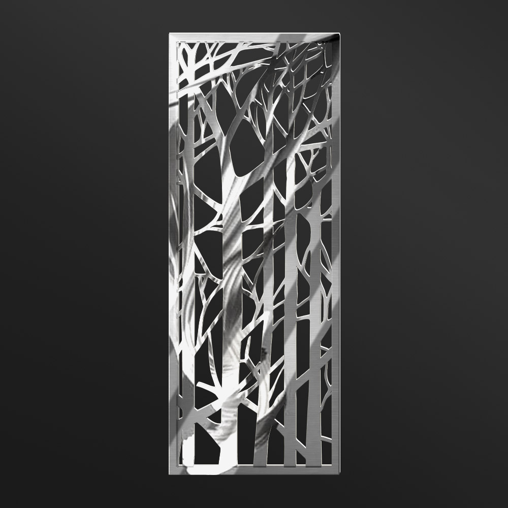 MPW-09 Polished Stainless Steel | Besty Display