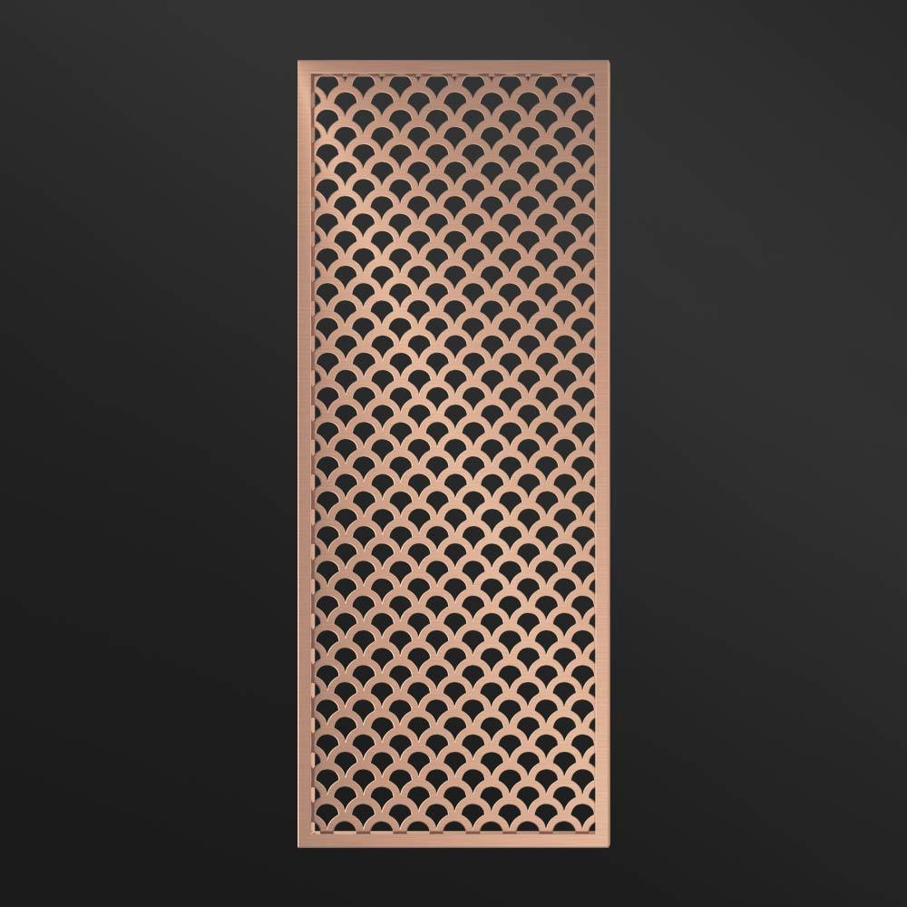 MPW-12 Metal Room Divider Rose Gold | Besty Display