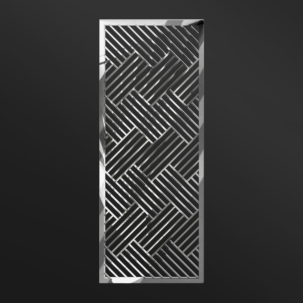 MPW-13 Polished Stainless Steel   Besty Display