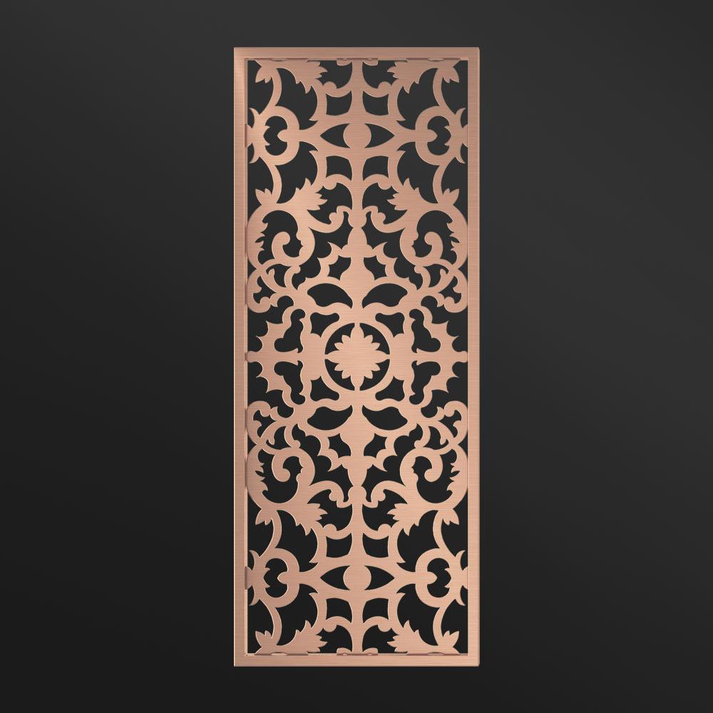 MPW-16 Decorative Screen Panel Rose Gold   Besty Display