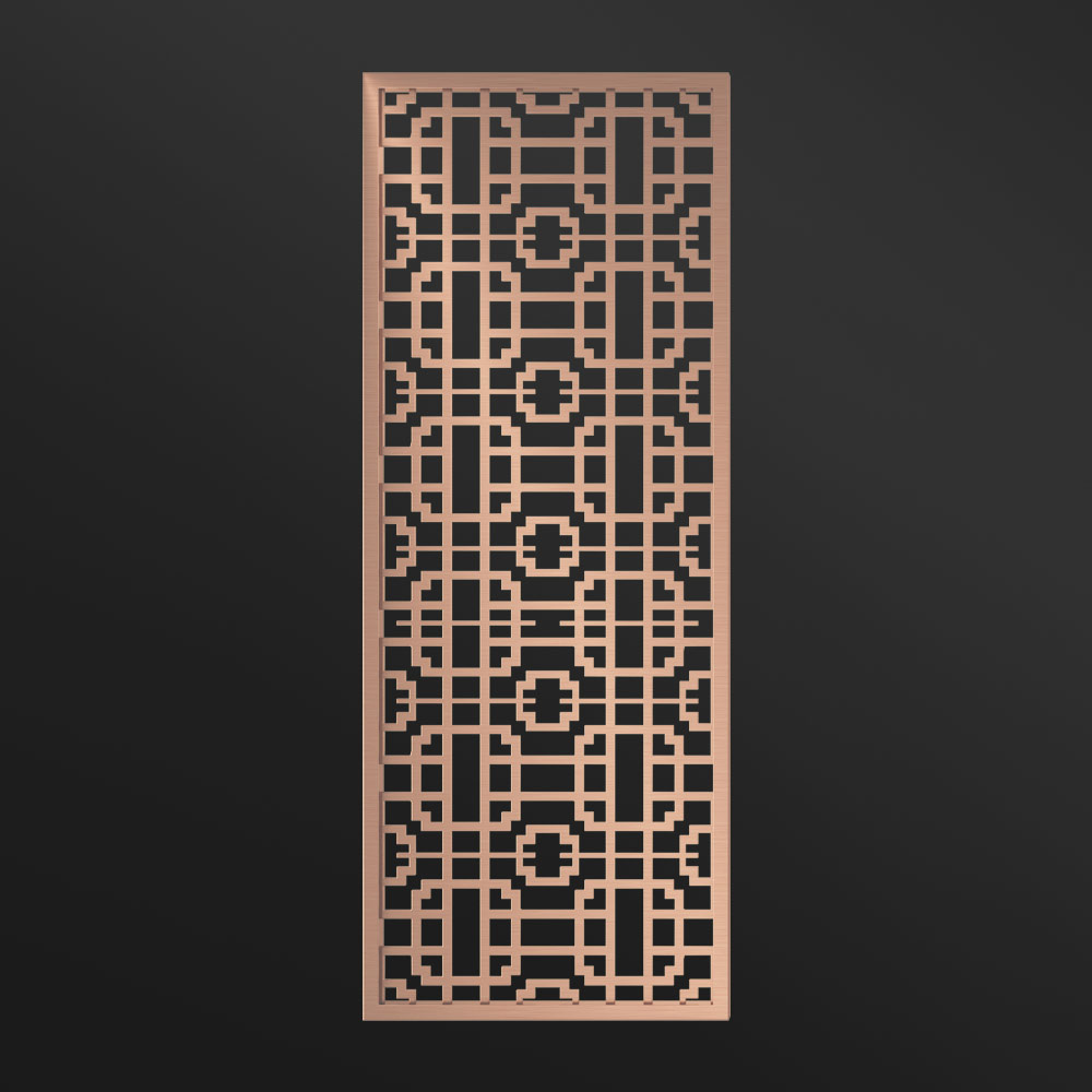MPW-18 Metal Divider Screen Rose Gold | Besty Display