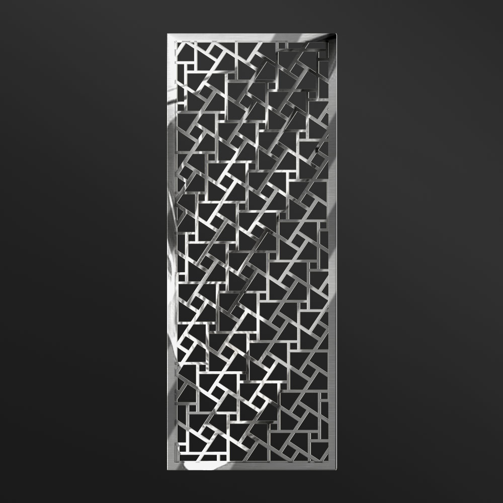 MPW-19 Polished Stainless Steel   Besty Display