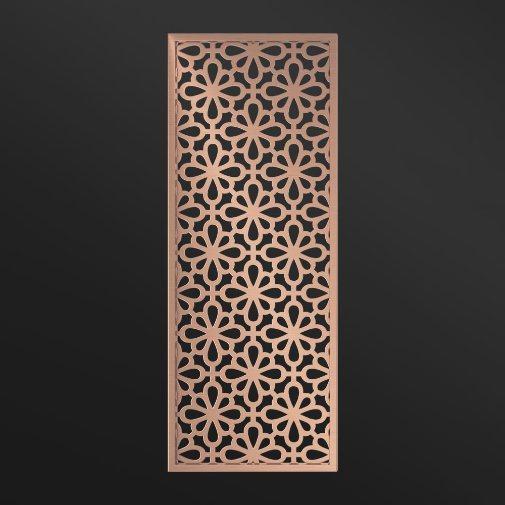 MPW-20 Decorative Room Divider Rose Gold   Besty Display