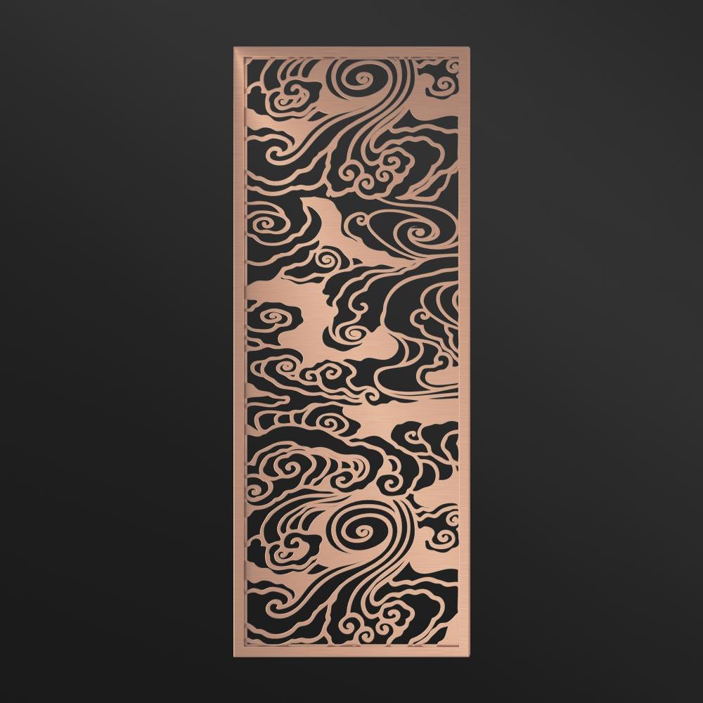 MPW-22 Decorative Screen Panel Indoor Rose Gold | Besty Display