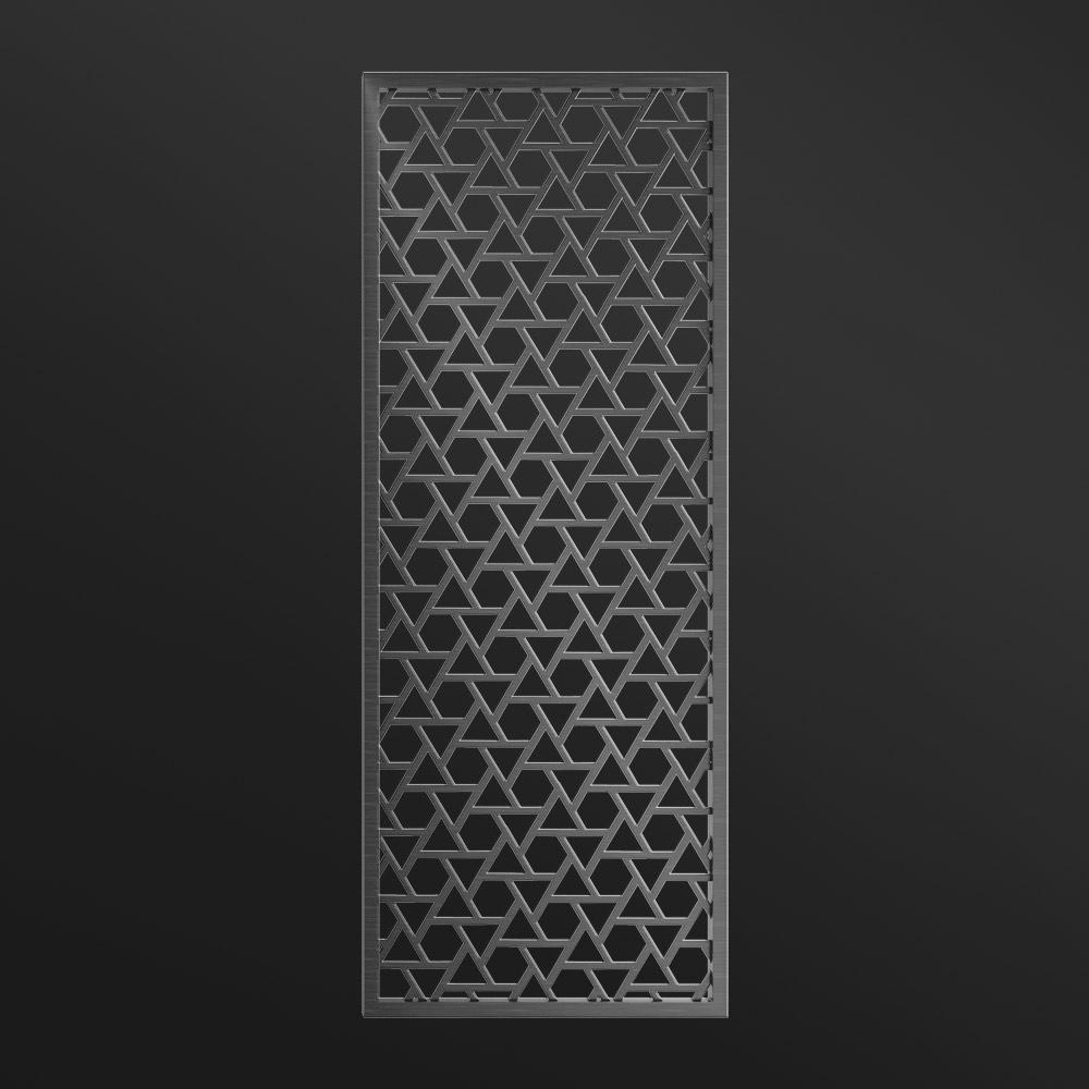 MPW-23 Black Metal Wall Divider   Besty Display