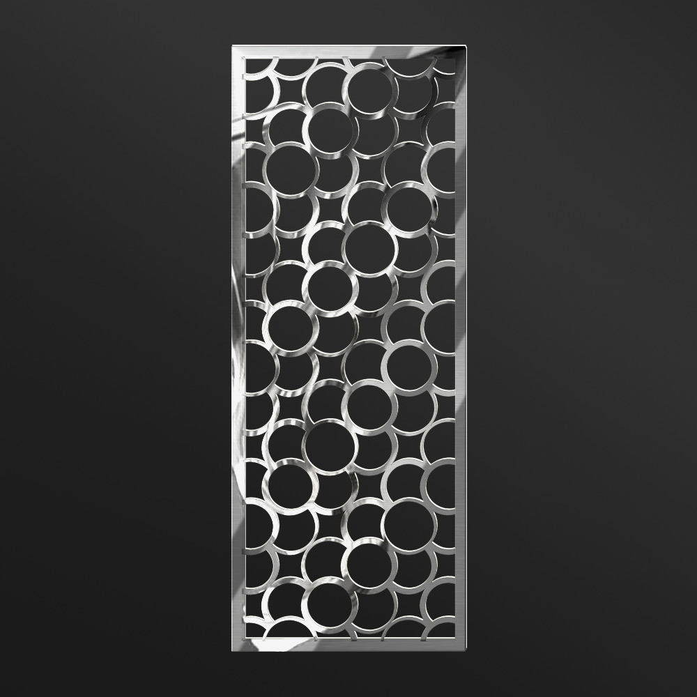 MPW-24 Polished Stainless Steel   Besty Display