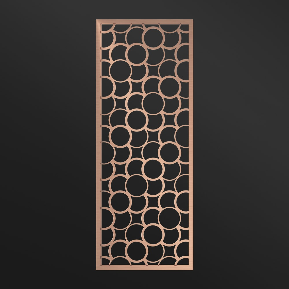 MPW-24 Decorative Panels Rose Gold   Besty Display